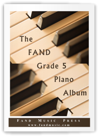 The Fand Grade 5 Piano Album